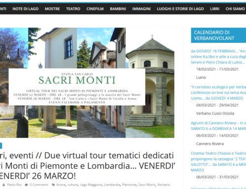 Veranstaltungskalender Lago Maggiore